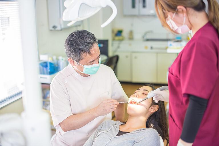 しおみ歯科医院のむし歯治療